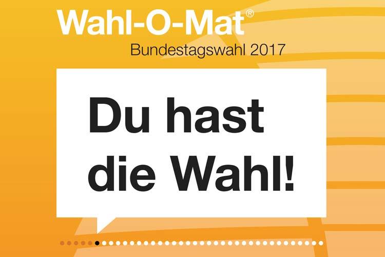 Die Bundestagswahl steht vor der Tür und mit ihr der Wahl-o-Mat. Das Online-Tool steuert zur persönlichen Wahlentscheidung bei.