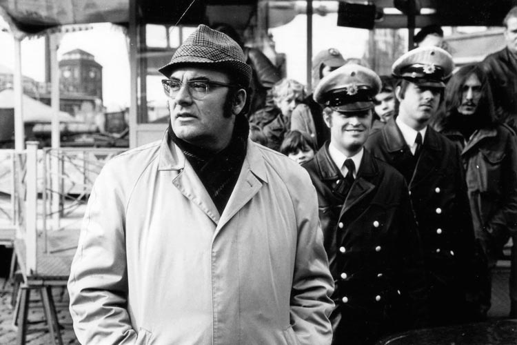 """Hans Häckermann verkörperte in dem Bremer """"Tatort"""" den Kommissar Böck."""