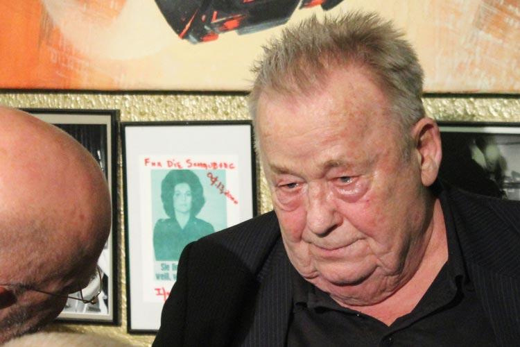Schauspieler Rainer Basedow spielte einen von zwei Kriminalbeamten.
