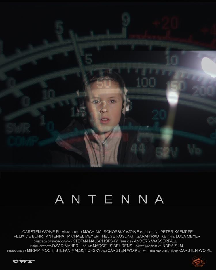 Das Plakat vom Kurzfilm Antenna.