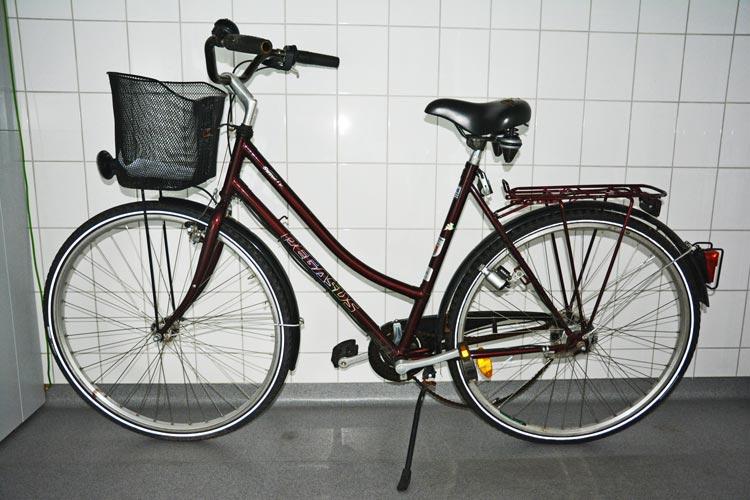Wer kann Angaben zur Herkunft des Fahrrades machen?
