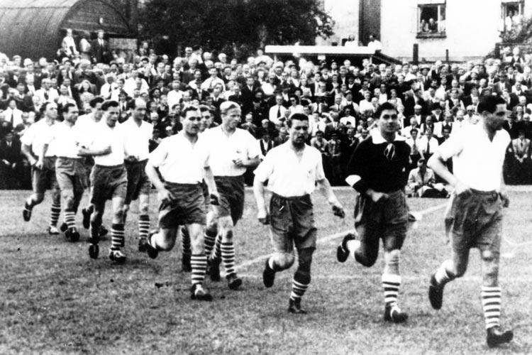 1950 spielte der VfB als Oberligist.