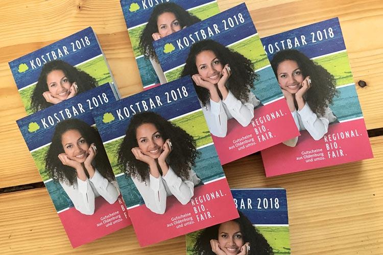 Kostbar 2018 ist ab sofort in Oldenburg erhältlich.
