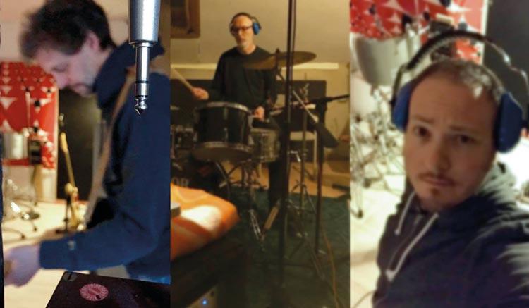 Die Math on Monday Bandmitglieder Frank, Lutz und Florian.