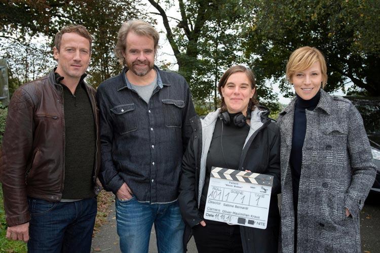 Wotan Wilke Möhring, Kameramann Oliver Maximilian Kraus, Regisseurin Sabine Bernardi und Franziska Weisz.