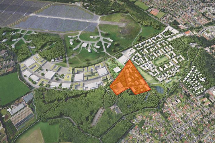 Ein Konsortium aus 21 Partnern plant Energetisches Nachbarschaftsquartier auf dem ehemaligen Fliegerhorst.