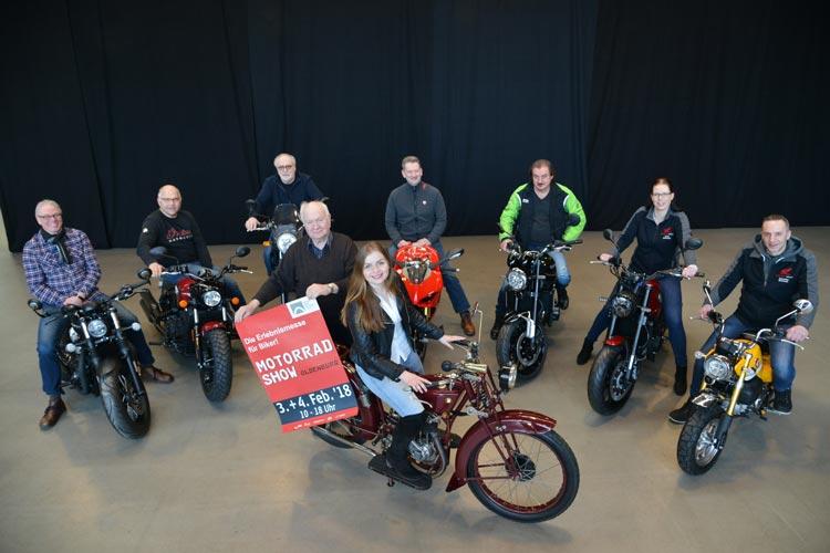 Fans von Oldtimern können sich auf eine Oldtimer-Show auf der diesjährigen Motorrad-Show freuen.