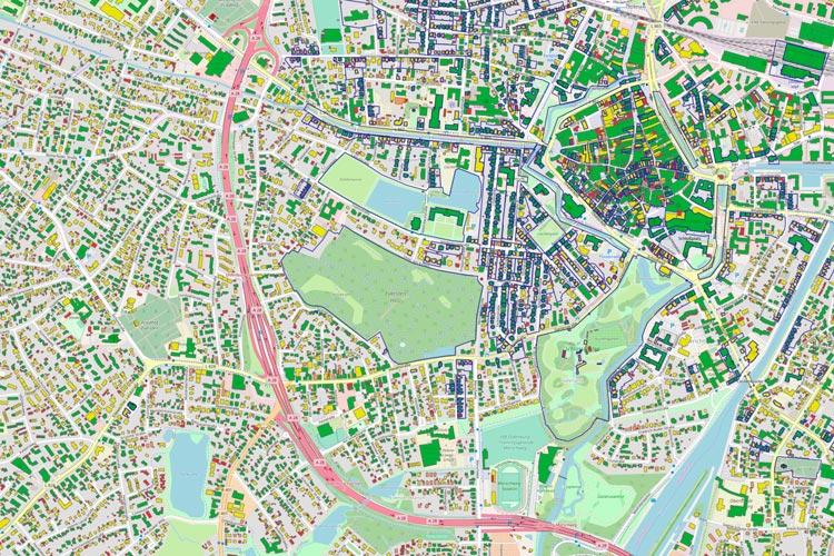 48.000 Dächer in Oldenburg könnten eine Photovoltaikanlage tragen.