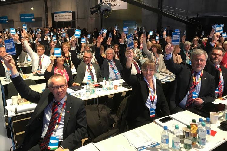 Zum 30. CDU-Parteitag hat der Oldenburger Landesverband aus seinen Kreisverbänden 24 Delegierte nach Berlin gesendet.