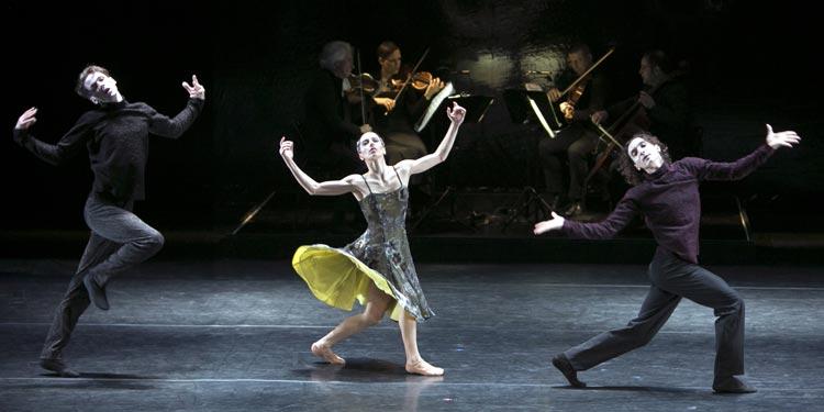 """""""Der Tod und das Mädchen"""" bildet den Abschluss des dreiteiligen Ballettabends am Oldenburgschen Staatstheater"""