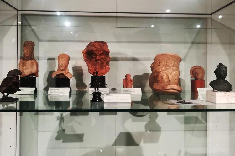 Entenkunst im Stadtmuseum Oldenburg.