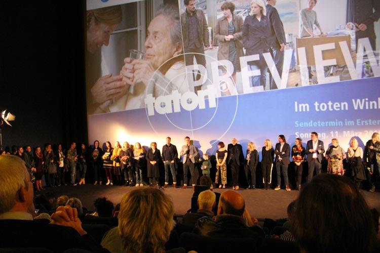 """Der Tatort """"Im toten Winkel"""" wurde im Bremer CinemaxX gezeigt."""