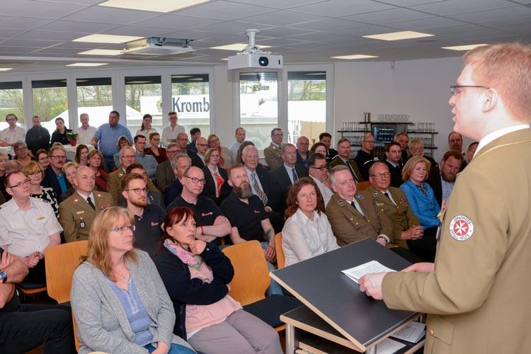 Das neue Johanniter Bildungs- und Tagungszentrum (BiTa) Oldenburg wurde eingeweiht.