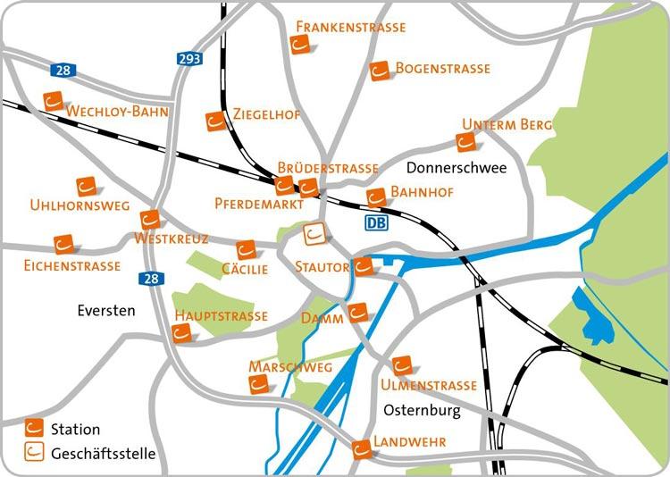 18 CarSharing-Stationen konnten in den vergangenen Jahren in Oldenburg eröffnet werden – Tendenz steigend.