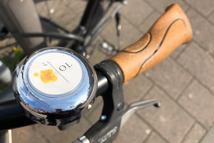 """Die neue Fahrradkarte """"Radliebe"""" für Oldenburg soll für bessere Orientierung durch die Stadt sorgen. Foto: Anja Michaeli"""