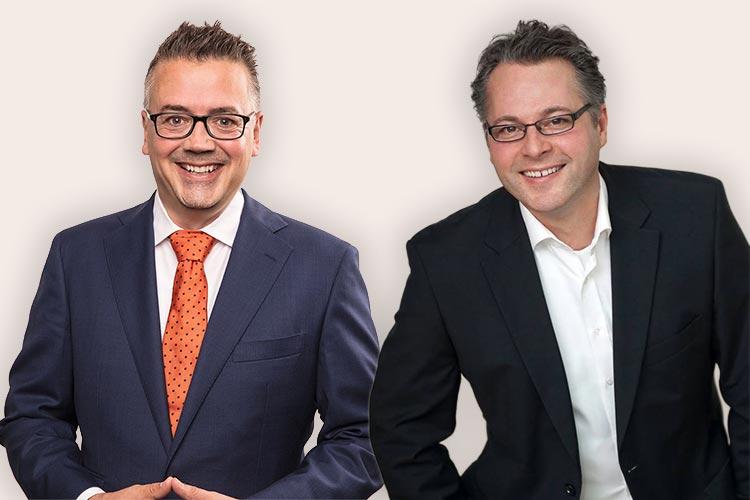 Der Kreisvorsitzende Michael Eggers (rechts) gibt sein Amt ab. Sein Stellvertreter Christoph Baak wurde als Nachfolger vorgeschlagen.