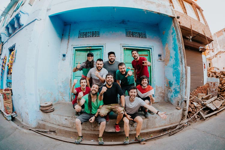 Txarango aus Barcelona kommen mit südamerikanischem Mestizo-Rock auf die Oldenburger Kultursommer-Bühne.