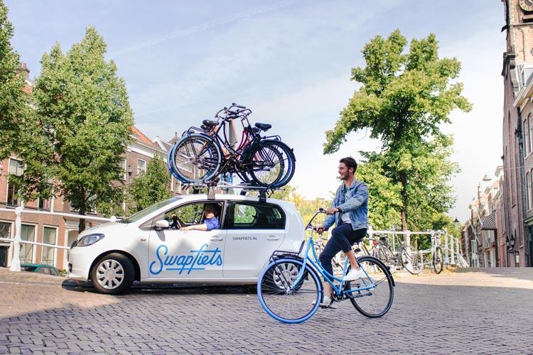 Die Swapfiets fahren ab heute auch in Oldenburg.