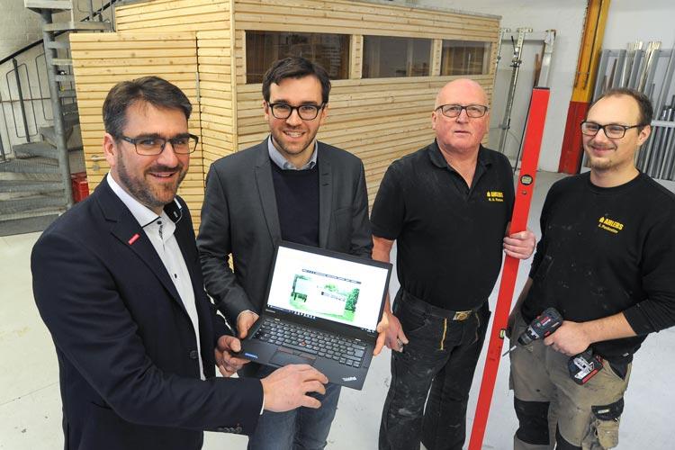Um Daten über die Digitalisierung im Handwerk zu gewinnen, hat sich die HWK Oldenburg an einer Umfrage beteiligt.