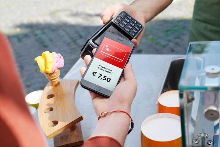Mit Android-Smartphones können LzO-Kunden ab sofort mobil bezahlen.