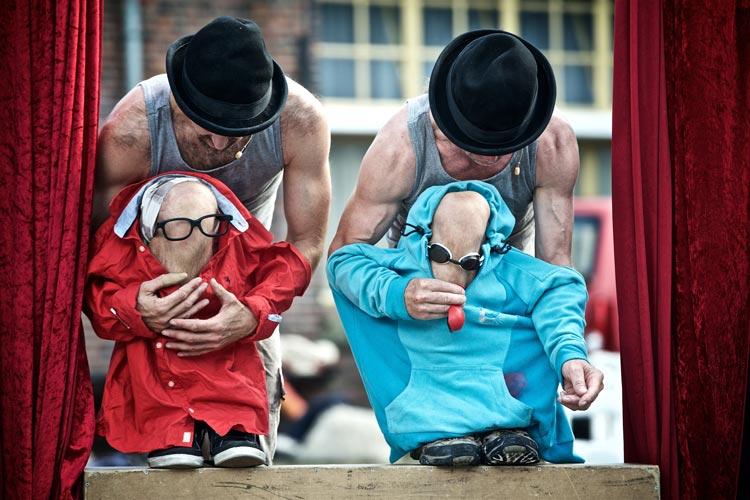 Das Duo Diesel aus den Niederlanden ist zum zweiten Mal beim Kleinkunstfestival JAPZ in der Oldenburger Innenstadt zu erleben.
