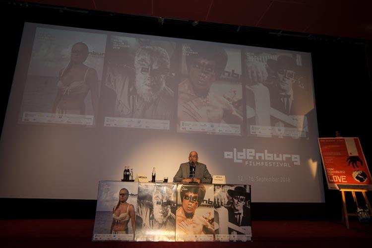Filmfest-Chef Torsten Neumann stellte heute erste Highlights und Neuerungen im Casablanca Kino vor.