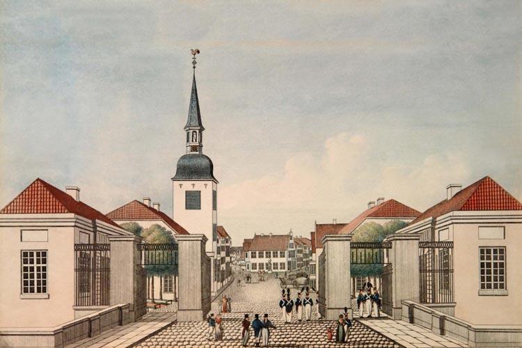 Der Lappan im Jahr 1820.