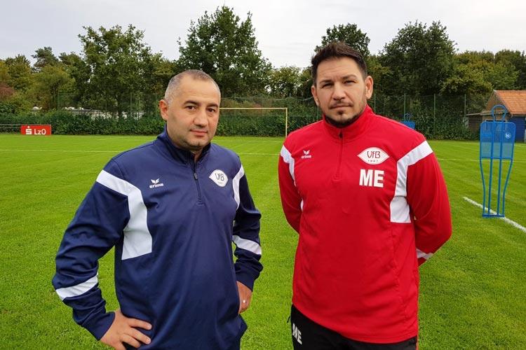 Cumhur Demir und Marco Elia werden vorerst das Training des VfB Oldenburg leiten.