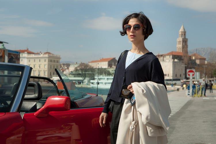 Neda Rahmanian spielt in der ZDF Reihe Der Kroatien-Krimi die Ermittlerin Branca Maric.