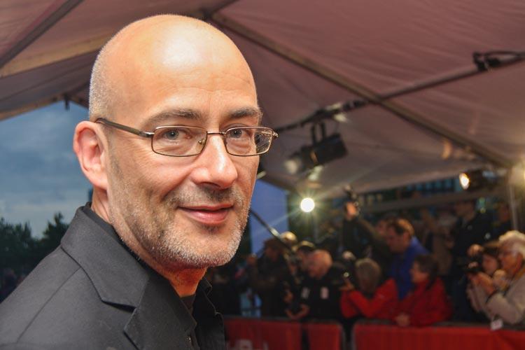 Torsten Neumann auf dem roten Teppich des Internationalen Filmfestes Oldenburg.