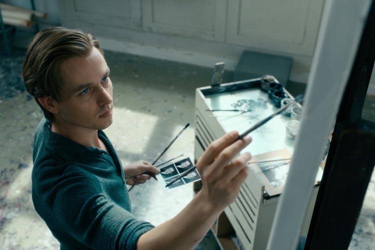 Tom Schilling als Kurt in Werk ohne Autor.