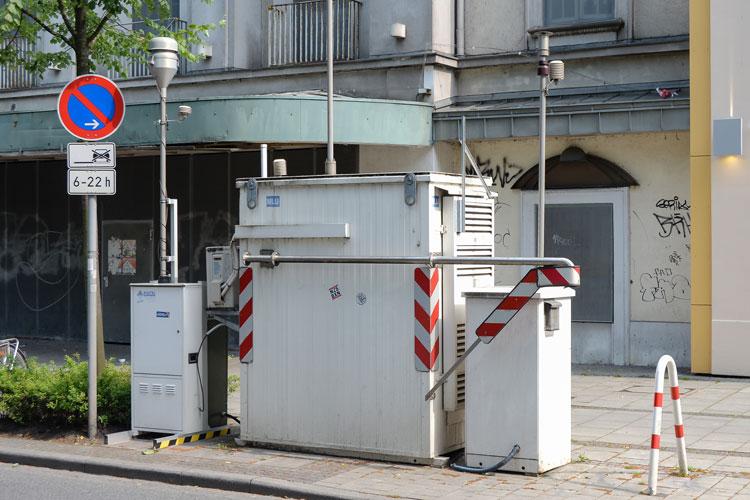 An der Messstation Heiligengeistwall wurden 2019 im Mittelwert Stickstoffdioxidwerte unter dem erlaubten Jahresgrenzwert gemessen.