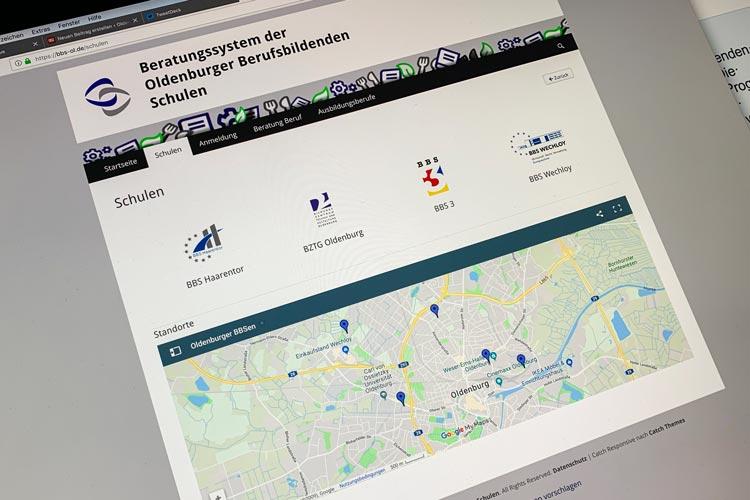 Die Berufsbildenden Schulen der Stadt Oldenburg nehmen online Anmeldungen entgegen.