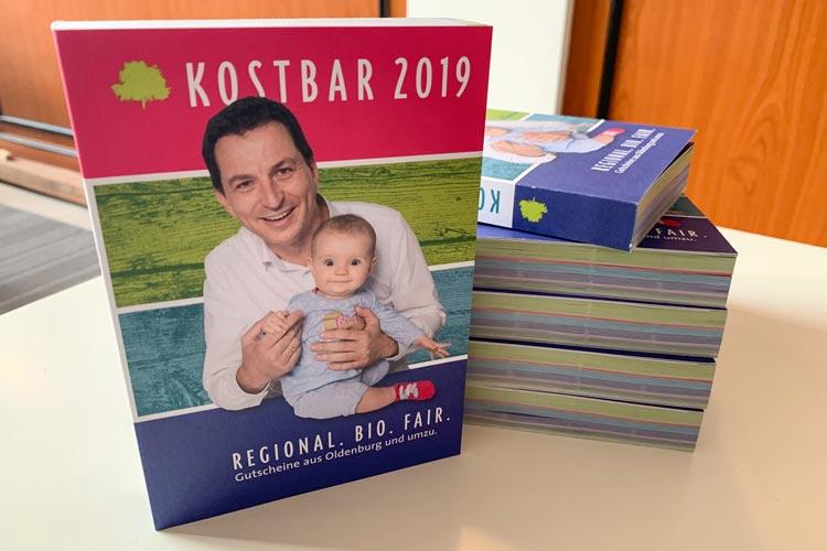 """Damit alle """"Kostbar""""-Leser Lust aufs Kennenlernen und Ausprobieren der Produkte und Dienstleistungen der regionalen Vordenker bekommen, finden sich 240 Gutscheine im Buch."""