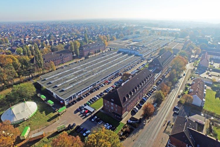Früher AEG, dann ACC und bald MTO – das MediTech Oldenburg. Kreyenbrück wird sich in den nächsten Jahren noch viel verändern.
