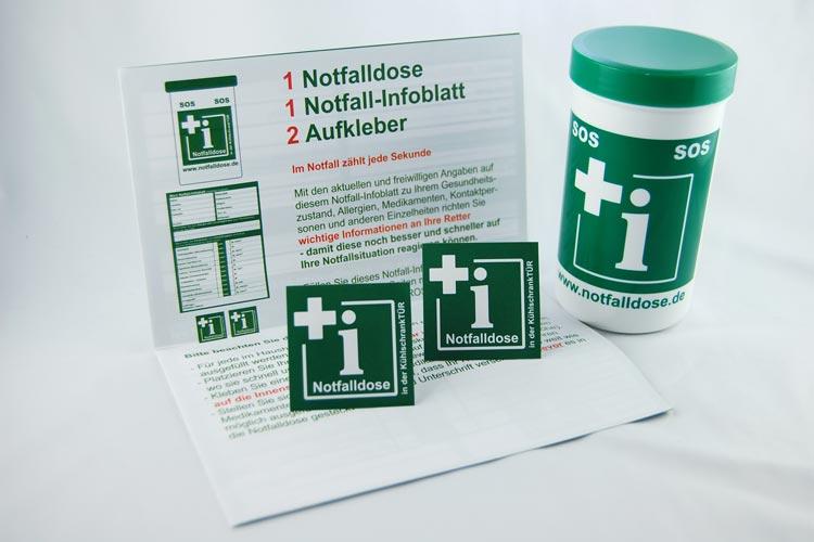 Die neuen Notfalldosen sollRettungskräften den Zugang zu notwendigen Informationen erleichtern.