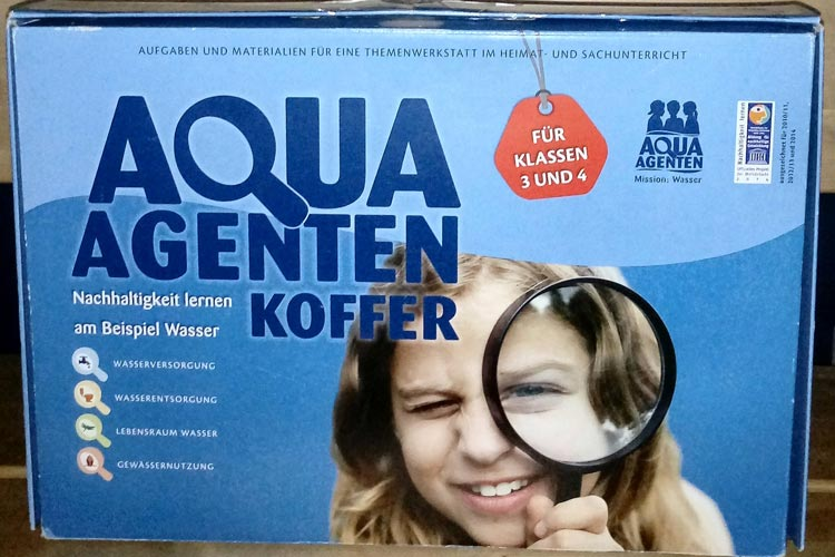 """""""Aqua-Agenten"""" wissen viel und schonen die Umwelt."""
