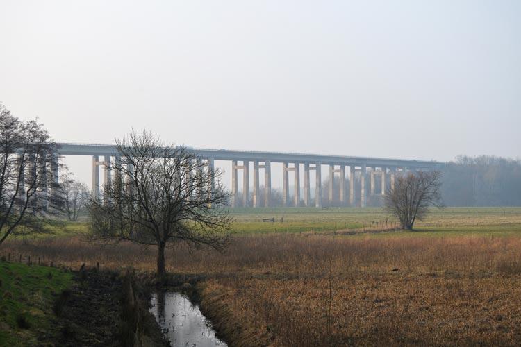 Die Planungen für den Neubau der Huntebrücke in Oldenburg erfordern Fällarbeiten.