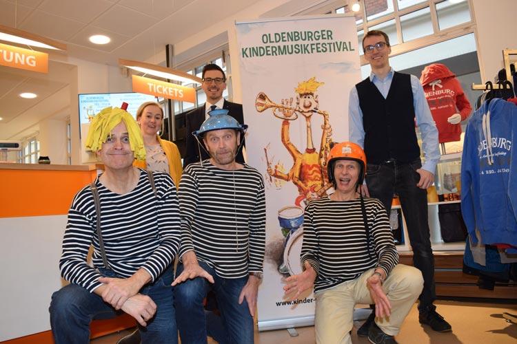 Der Kartenvorverkauf für das Oldenburger Kindermusikfestival hat heute begonnen.