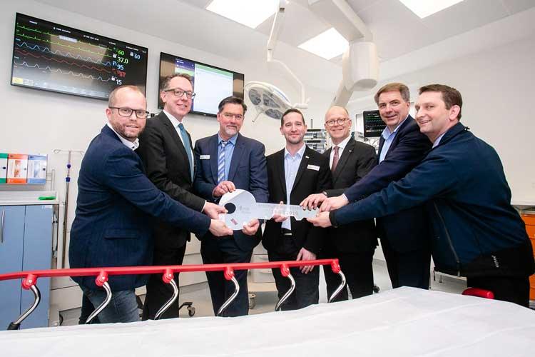 Nach knapp dreijähriger Planungs- und Bauzeit ging das Notfallzentrum Oldenburg (NZO) des Klinikums Oldenburg kürzlich in Betrieb.