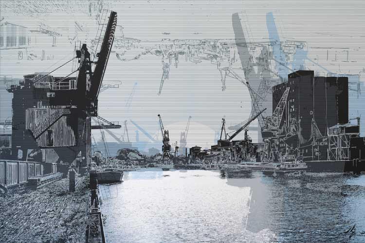 """Das Stadtmuseum Oldenburg zeigt die Ausstellung """"Standpunkte. Das Bild der Stadt in der Kunst""""."""