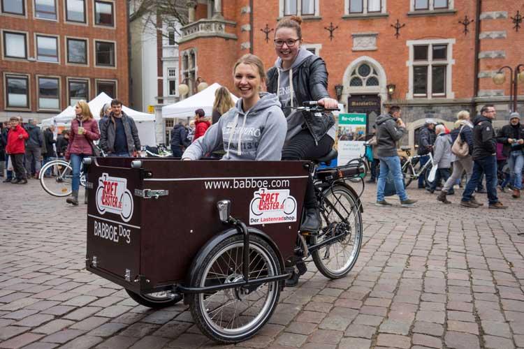 """""""Hallo Fahrrad"""" heißt es wieder in Oldenburg."""