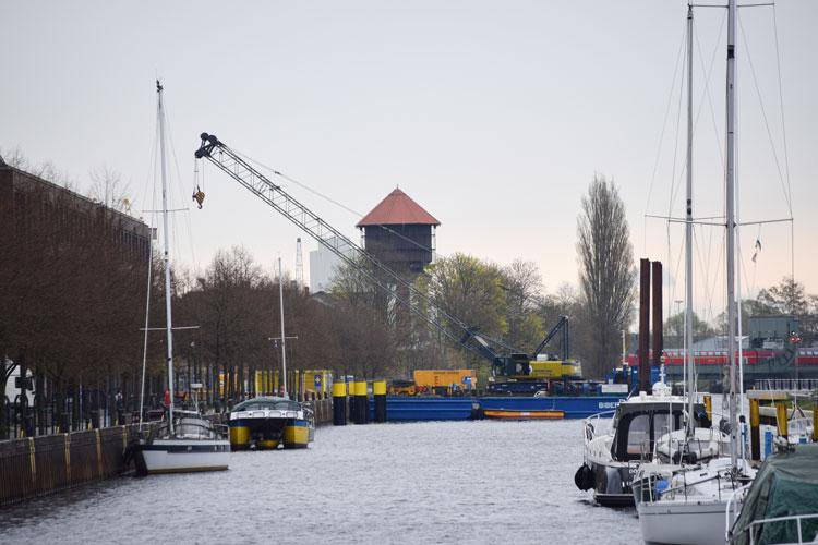 Der Oldenburger Hafen erhält einen neuen Anleger.