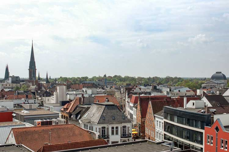 Oldenburg ist mit drei Leuchtturmprojekten im Smart-City-Atlas vertreten.