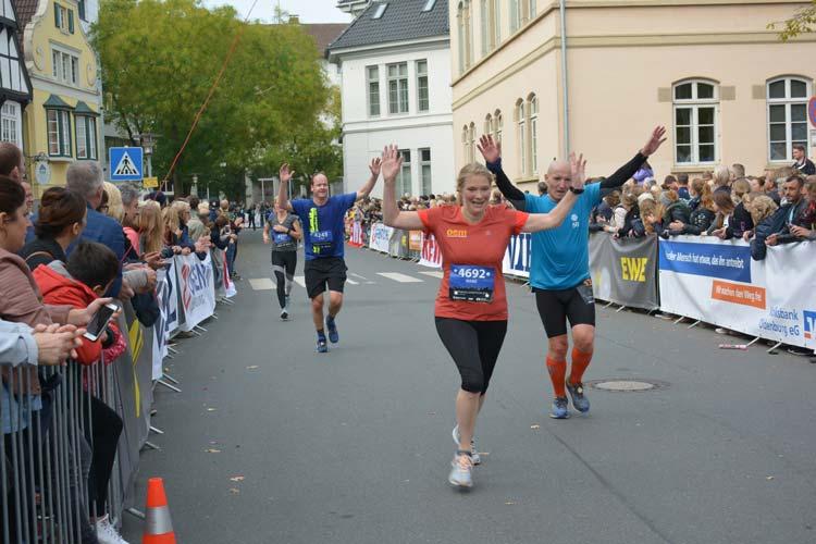 Rund 6000 Läuferinnen und Läufer werden zum Oldenburg-Marathon erwartet.