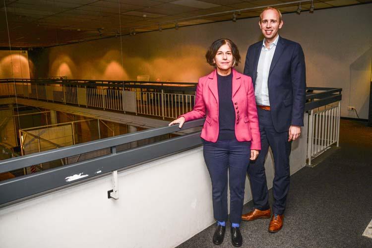 Haben sich für die finanzielle Unterstützung des Landesmuseums Natur und Mensch eingesetzt: Museumsleiterin Dr. Ursula Warnke und Dennis Rohde (MdB).
