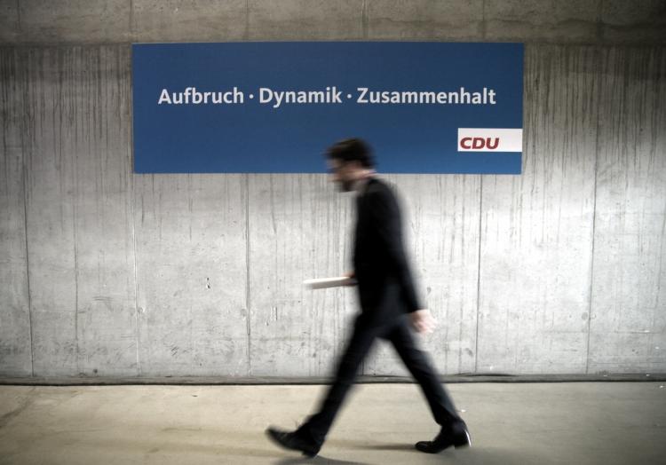 CDU-Slogan ´Aufbruch, Dynamik, Zusammenhalt´, über dts Nachrichtenagentur