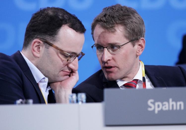 Jens Spahn und Daniel Günther, über dts Nachrichtenagentur