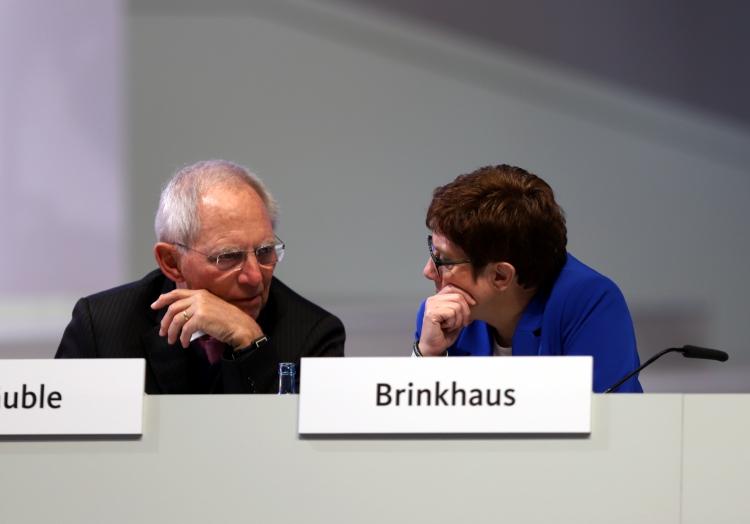 Wolfgang Schäuble und Annegret Kramp-Karrenbauer, über dts Nachrichtenagentur