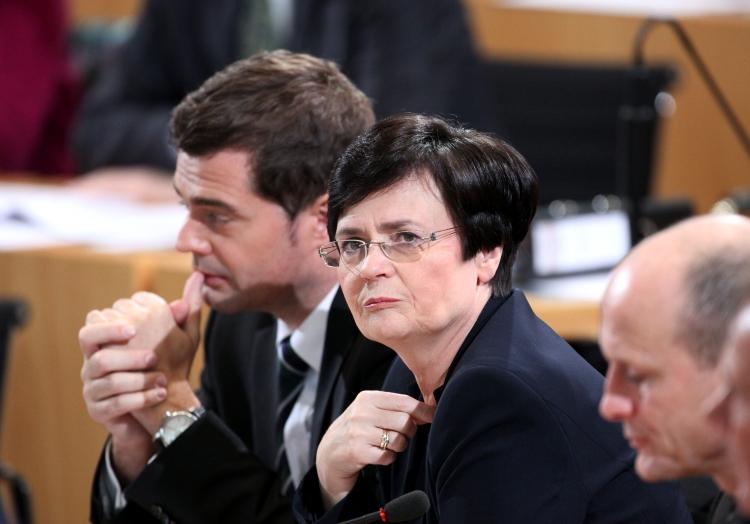 Mike Mohring und Christine Lieberknecht am 05.12.2014 im Erfurter Landtag, über dts Nachrichtenagentur